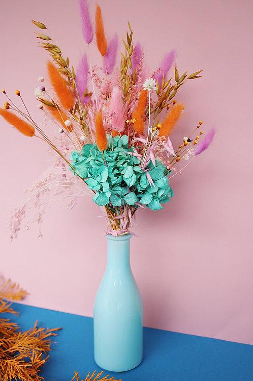 Bouquet Mandarine turquoise