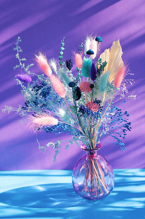 Bouquet Coco turquoise