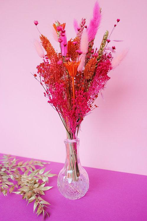 Bouquet Fraise doré