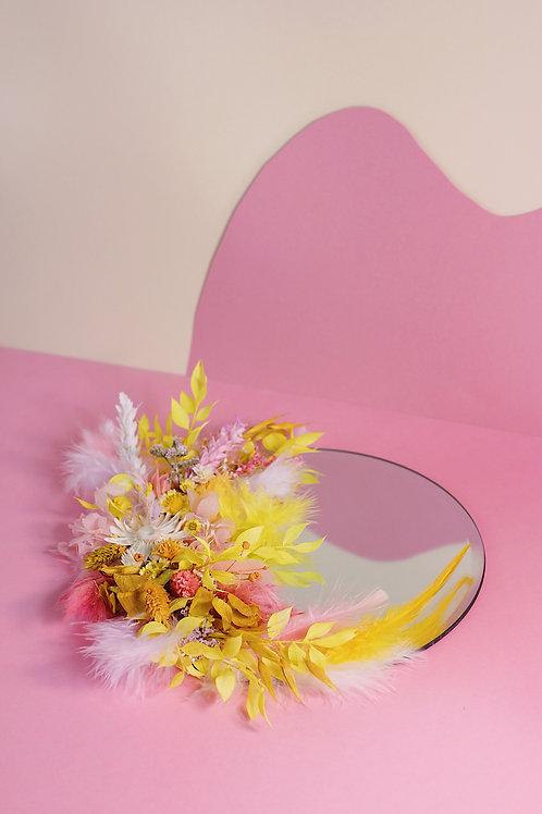 Miroir Etoile rose