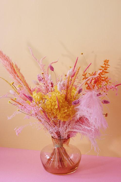 Bouquet Ananas rose