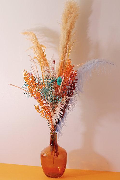 Grand bouquet Café orange