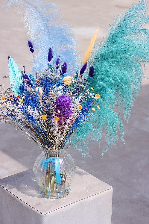 Grand bouquet Melon bleu
