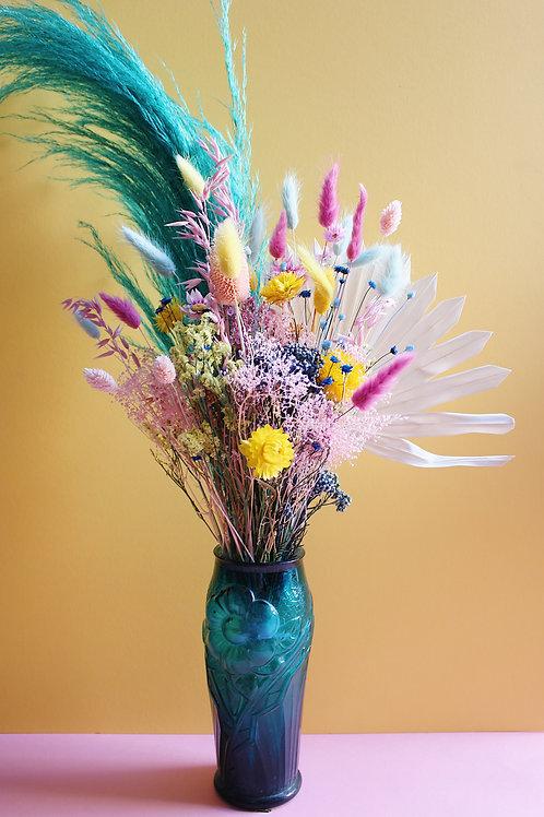 Bouquet Citron turquoise