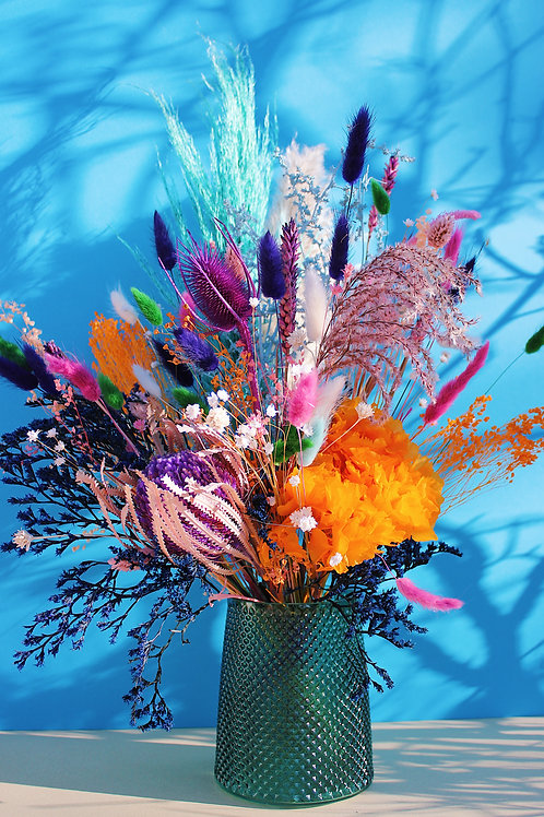 Grand Bouquet Orange verte