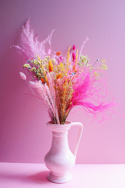 Bouquet Abricot fuchsia
