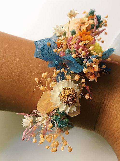Bracelet fleuri personnalisable