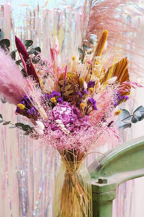 Grand bouquet Eucalyptus rose
