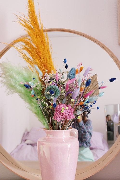 Bouquet Pistache bleue