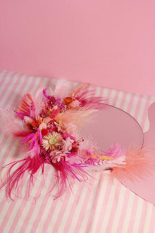 Miroir Sable rose