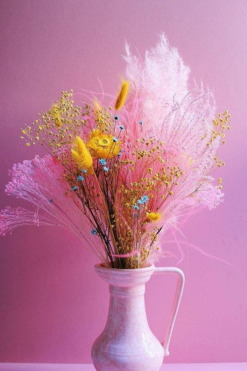 Bouquet Citron rose
