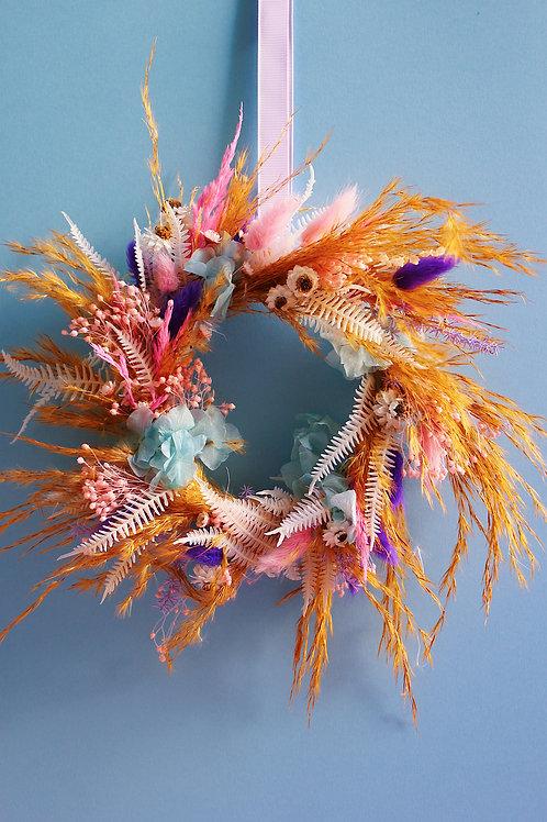 Petite couronne Papaye bleue