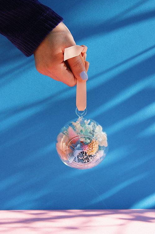 Boule fleurie Raisin bleu