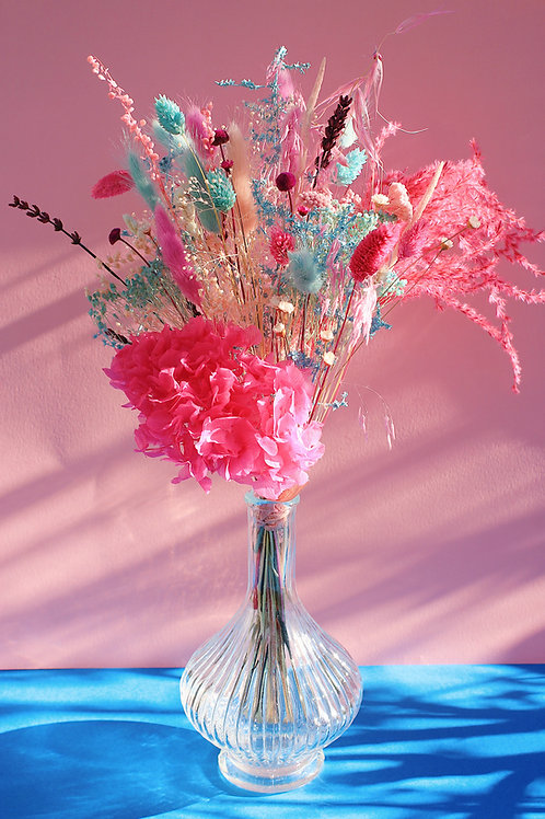 Bouquet Myrtille rose