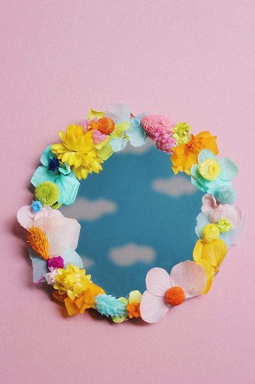 Petit miroir Nuage irisé