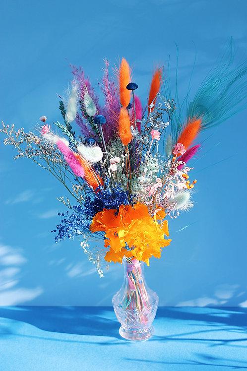 Bouquet Papaye bleue