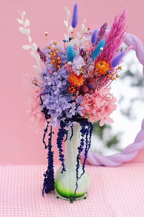 Vase Jelly verte