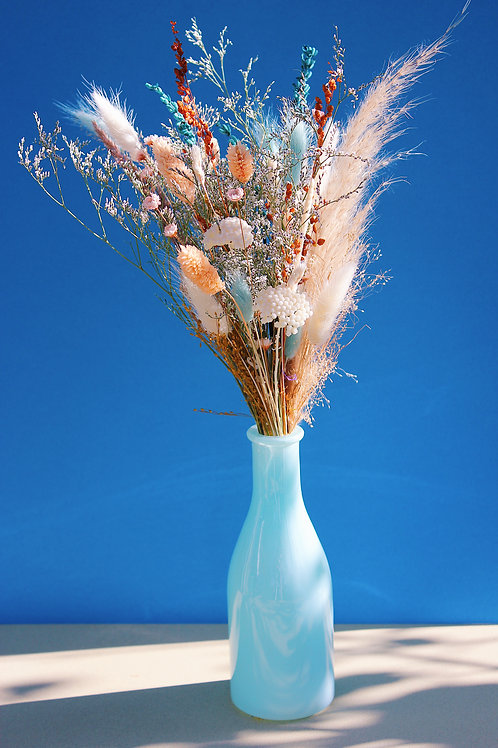 Bouquet Pêche bleue