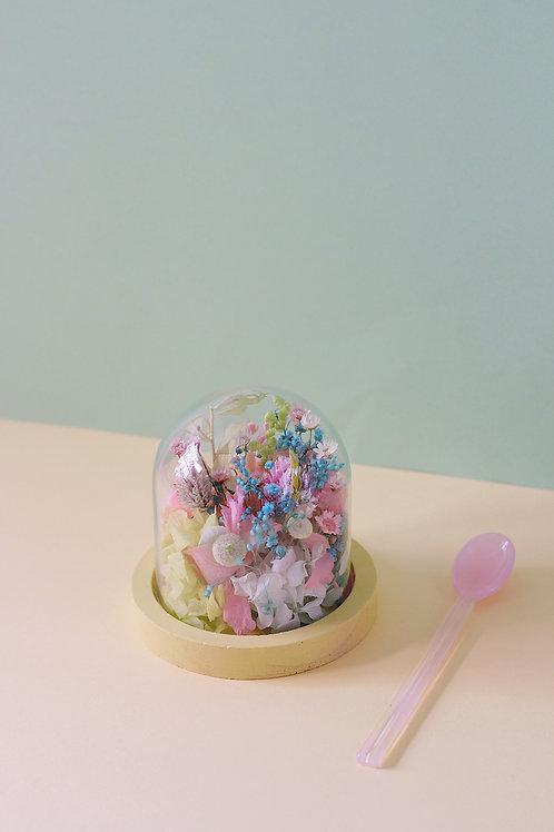 Petite cloche Basilic fraise