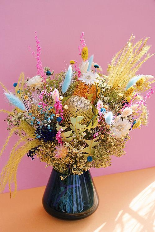 Bouquet Coco bleue