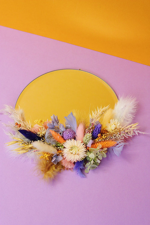Miroir Soleil orange