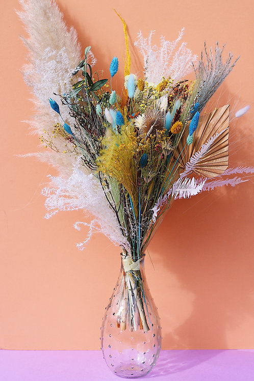 Grand Bouquet Vanille jaune
