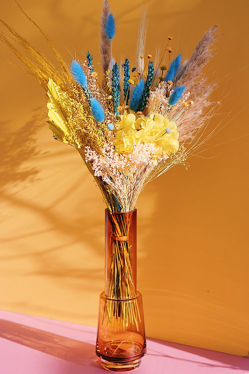 Bouquet Banane bleue