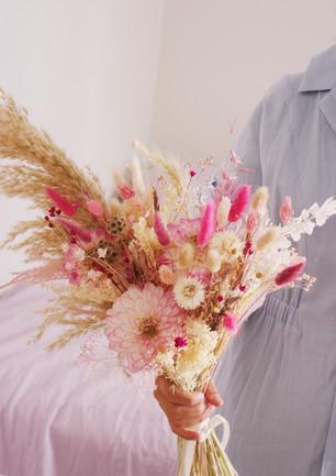 Le bouquet de mariée sur-mesure