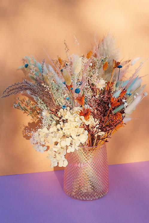 Grand Bouquet Caramel bleu