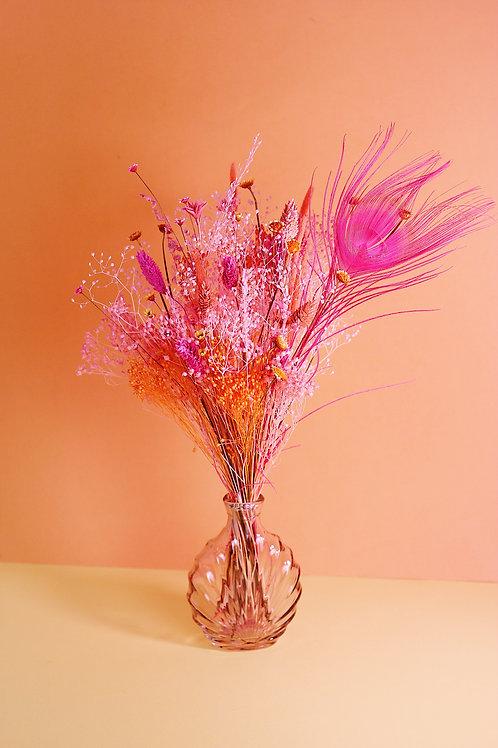 Bouquet Abricot rose