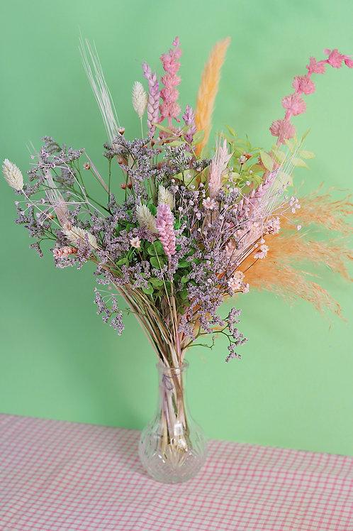 Bouquet Pistache rose