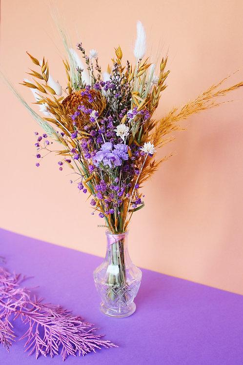 Bouquet Cannelle violette