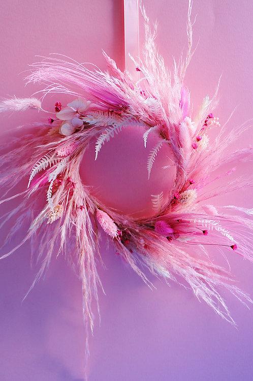 Petite couronne Rose grenadine
