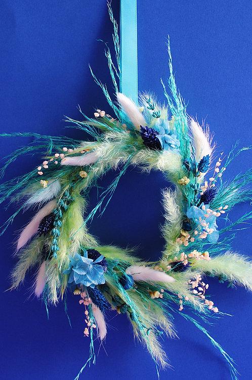 Petite couronne Kiwi turquoise