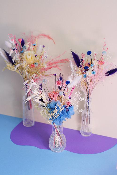 Trio de bouquets Figue bleue