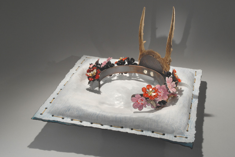 Tiara with Presentation Pillow