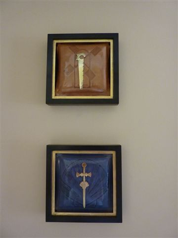 From left - 2, Shields of Apostles, 015.