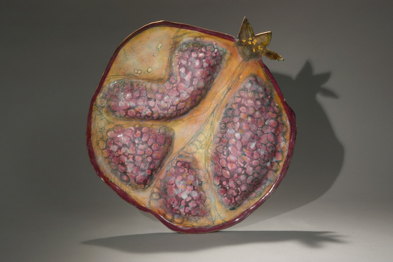 Pomegranate Plate