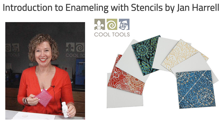 Enameling with Stencils - Cool Tools