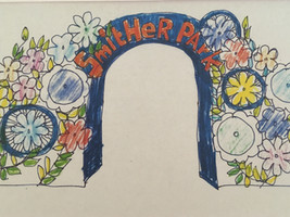 Artists sketch of the proposed entrance to Smither Park