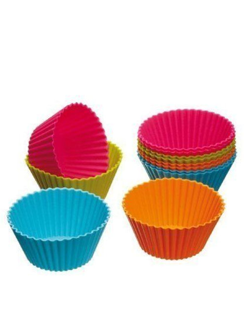 2 Minute Microwave Oven Steamer Mini Muffin Cupcake Mould