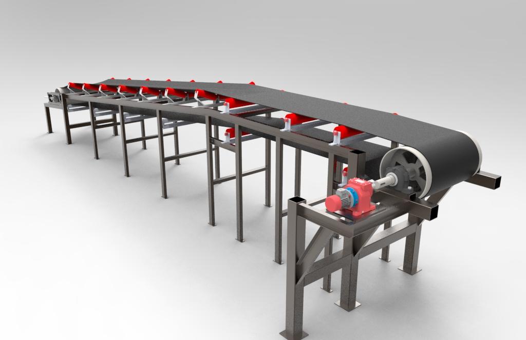 Belt conveyor.2