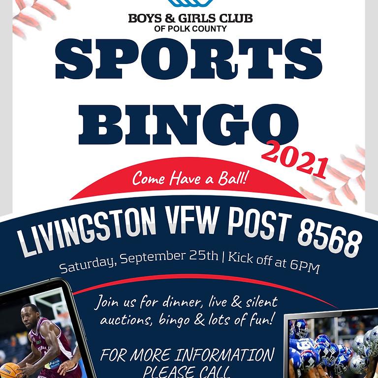 Boys & Girls Club of Polk County Sports Bingo