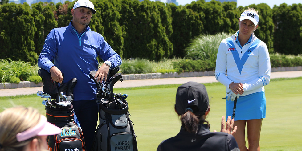 Golf Lesson with Jorge Parada - Full Swing Iron Play