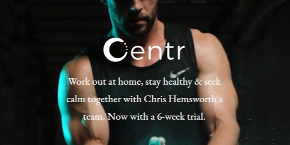 Center Fitness App