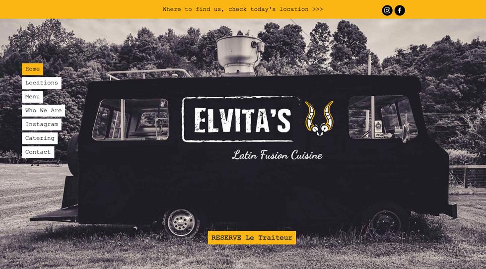 Elvita's Latin Fusion Cuisine