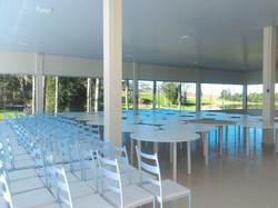 Salão Cristal - mesas redondas