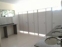Banheiro feminino Salão Cristal