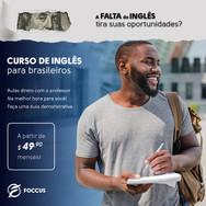 Curso Inglês, Foccus