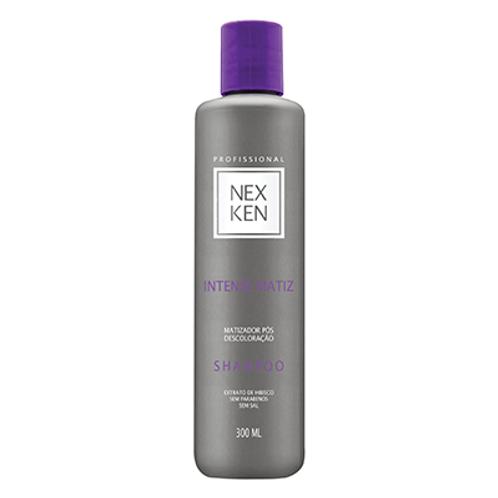 Shampoo Matizador Sem Parabenos Nexken Profissional 300ml